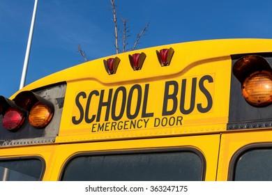 american school bus