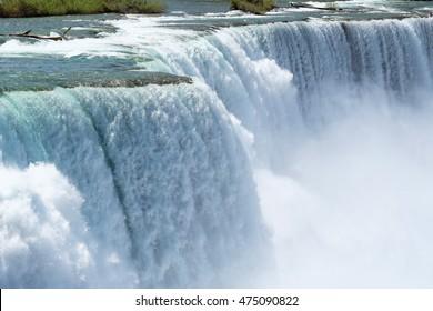 American side of Niagara Falls, New York, USA
