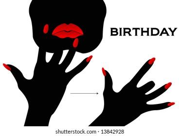 American Sign Language signing Birthday