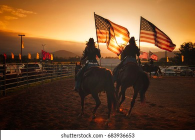 American State Fair with Girls on Horseback