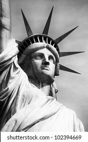 american statue of liberty-manhattan-new york city