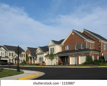 American Suburban Culdesac
