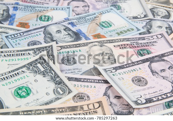 american US dollars banknotes