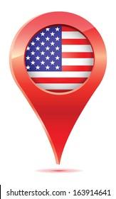 American, USA Flag