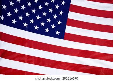 American / USA flag. Memorial Day, Independence Day and Veterans Day celebration in USA