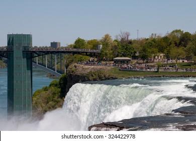 The American Water Falls in Buffalo, NY
