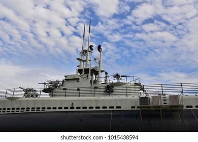 An American World War Two submarine