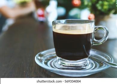 Americano Coffee cup of coffee