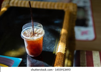 Americano Coffee On the table