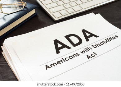 Americans with Disabilities Act ADA and glasses.