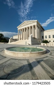 Americas highest court of law the Supreme Court in Washington DC United States