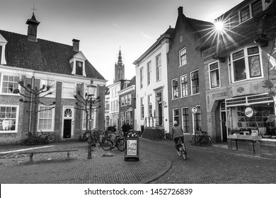 Amersfoort Cityscape Black and white