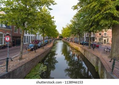 Amersfoort  / Netherlands / 20 july 2018 / Historic city center of Amersfoort.