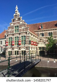 Amersfoort, The Netherlands. July 22th 2019: Museum at Amersfoort, The Netherlands