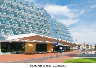 AMERSFOORT, NETHERLANDS - SEP 8, 2014: State agency for cultural heritage exterior. They are responsible for the conservation and sustainable development of archaeological values and monuments