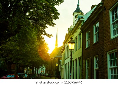 Amersfoort street Netherland river and army
