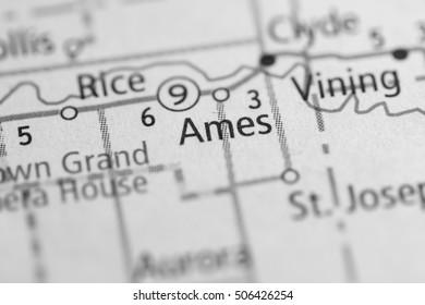 Ames. Kansas. USA.