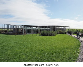AMESBURY, UK - CIRCA SEPTEMBER 2016: Stonehenge visitor centre at the prehistoric megalithic stone monument