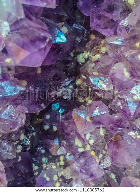 Amethyst Geode That Formed When Large Stock Photo (Edit Now