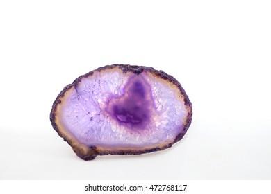 amethyst isolated
