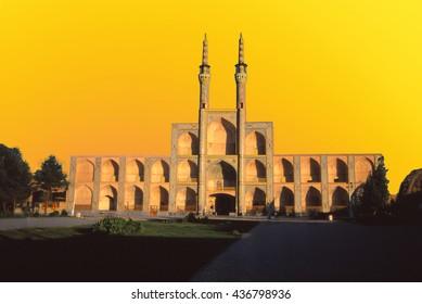 Amir Chakhmaq Bazaar in Yazd,Iran, Middle East