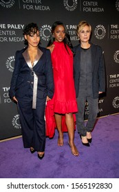 """Amirah Vann, Aja Naomi King, Liza Weil attend The Paley Center For Media Presents: An Evening With """"How To Get Away With Murder"""" at The Paley Center for Media, Beverly Hills, CA on November 19, 2019"""