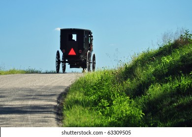 Amish buggy in eastern Ohio