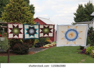 Amish Quilts and runners