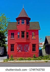 The Amityville firehouse circa 1893