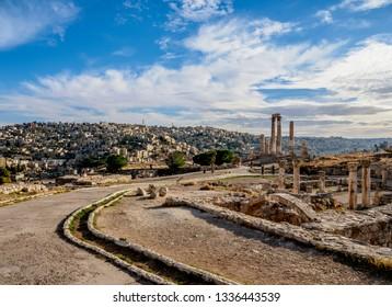 Amman Citadel, Amman Governorate, Jordan