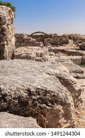 The Amman Citadel is a historical, Ummayad Palace,  Citadel Hill of Amman,