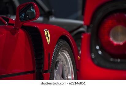 Amman, Jordan – 21/February/2011 Ferrari F40 Ferrari F50 on 21/February in Amman.