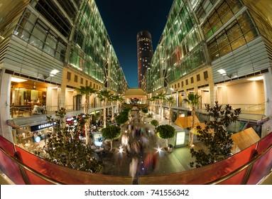 Amman, Jordan - 31 July 2017, Abdali Boulevard is the new downtown of Amman City
