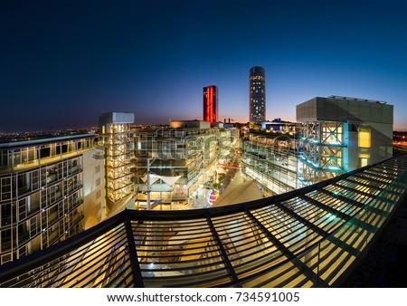 Amman Jordan 31 July 2017 Abdali Stock Photo Edit Now 734591005