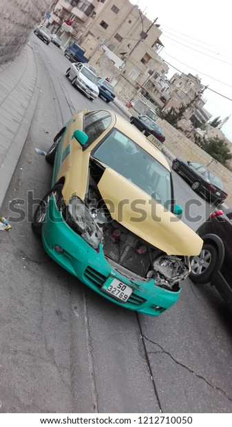 brand new d8d3e 41553 Amman Jordan April 2018 Taxi Center Stock Photo (Edit Now ...