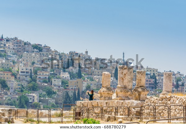 sale retailer 32644 3ce48 Amman Jordan July 17th 2017 Female Stock Photo (Edit Now ...
