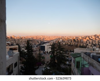 Amman rooftop view