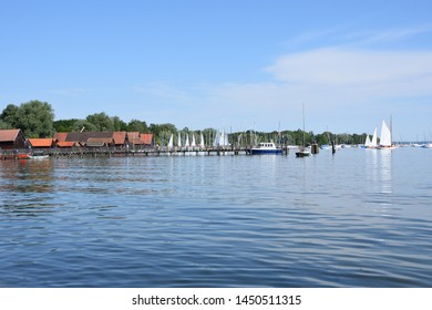 Ammersee in bavaria in spring