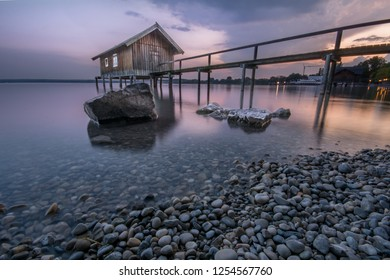 Ammersee Sunset by the lake