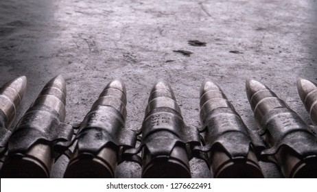 Ammo Bullet Chain Machine Gun Texture Light