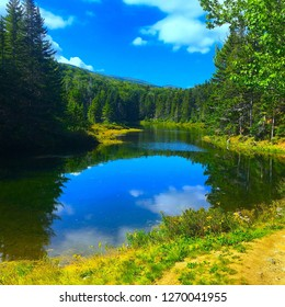 AMMONUSUK LAKE WHITE MOUNTAINS 1