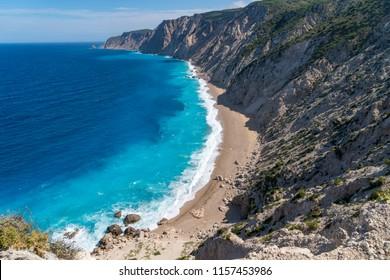 Ammos beach on Kefalonia Greece
