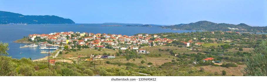 Ammouliani island in Greece