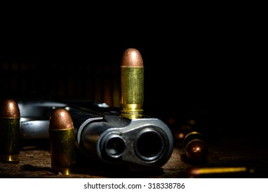 ammunition 11 mm. / 0.45 inches