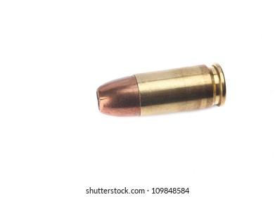 Ammunition isolated on white background
