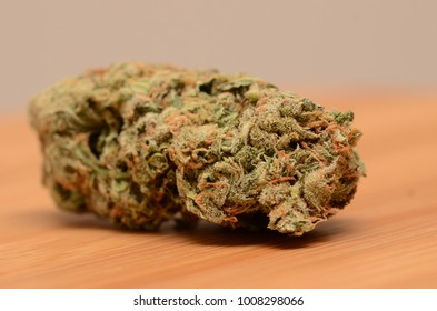 Amnesia haze cannabis on display