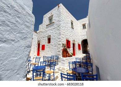 Amorgos town streets
