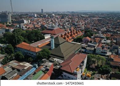 The Ampel Mosque in Surabaya, East Java, Indonesia