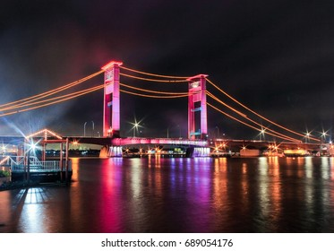 Ampera Bridge Palembang, South Sumatra, Indonesia