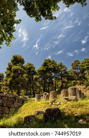 The Amphiareion of Oropos, situated in the hills 6 km southeast of the fortified port of Oropos, was a sanctuary dedicated in the late 5th century BCE to the hero Amphiaraos/Amphiareion